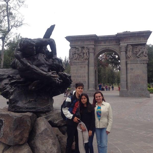 Foto tomada en Parque El Ejido por Maria Rossana H. el 11/3/2016