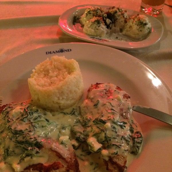 Photo taken at Diamond Restaurant by Yana V. on 8/19/2015