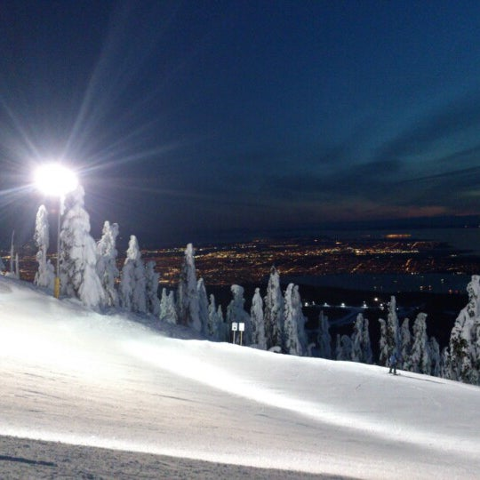 Photo taken at Cypress Mountain Ski Area by Devo M. on 1/15/2013