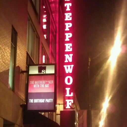 Photo taken at Steppenwolf Theatre Company by Diana C. on 2/1/2013