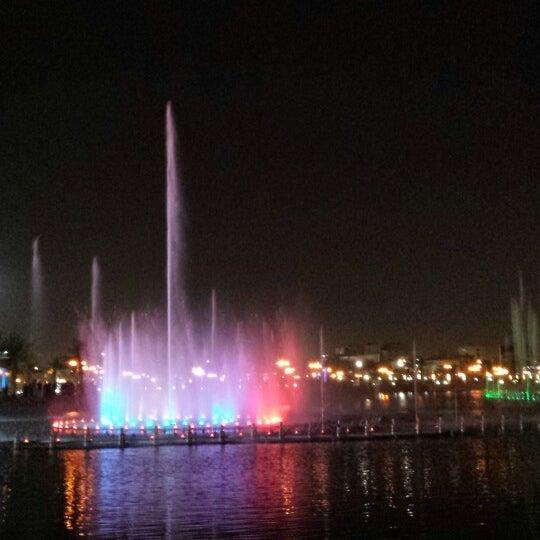 Photo taken at King Abdullah Park by Manor s. on 10/31/2013
