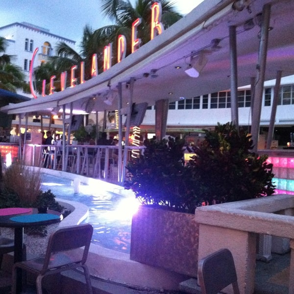 Photo taken at Clevelander South Beach Hotel and Bar by Crystal on 9/19/2013