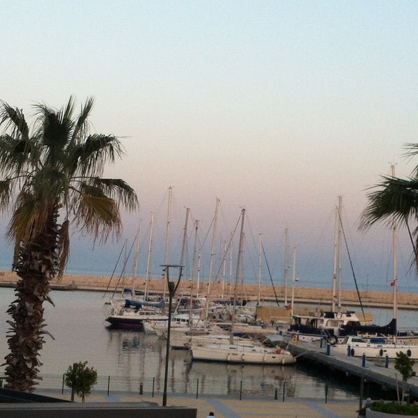 Photo taken at Mersin Marina by Tuba A. on 4/29/2013