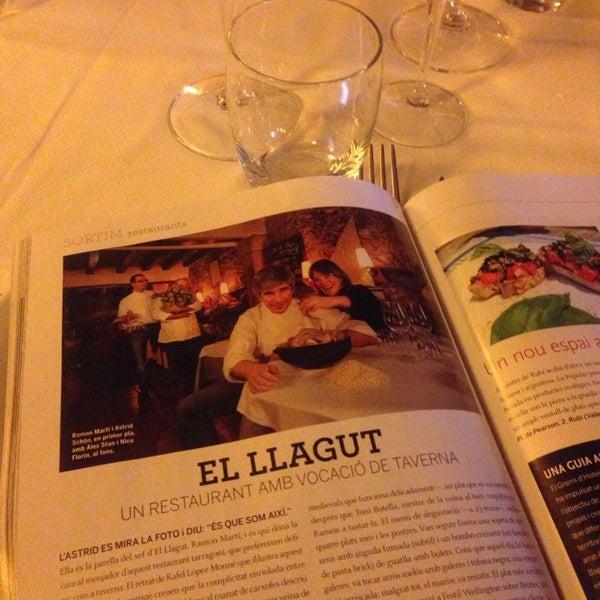 Photo taken at El Llagut by Almudena N. on 2/27/2014