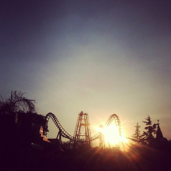 Photo taken at Six Flags México by Carolina O. on 12/15/2012