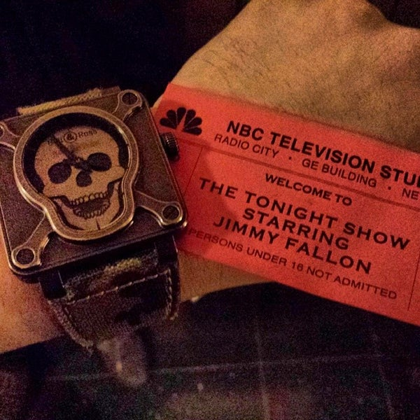 Photo taken at Late Night with Jimmy Fallon by Spanish Rob V. on 2/5/2014