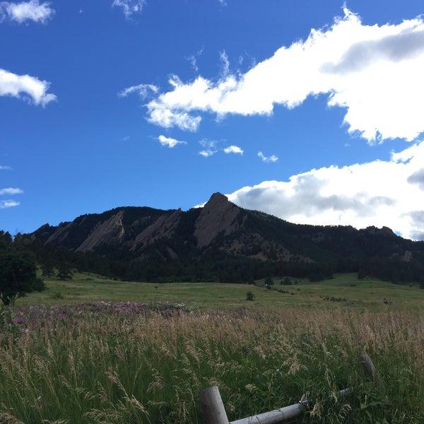 Photo taken at Colorado Chautauqua National Historic Landmark by Chelsea on 7/22/2015