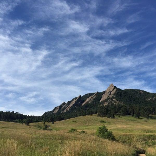 Photo taken at Colorado Chautauqua National Historic Landmark by Chelsea on 9/2/2015