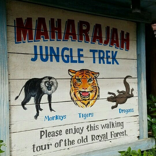 Photo taken at Maharajah Jungle Trek by Ydnam on 10/17/2016