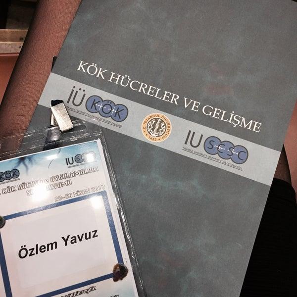 4/29/2017 tarihinde Özlem Y.ziyaretçi tarafından İstanbul Üniversitesi Kongre Kültür Merkezi'de çekilen fotoğraf