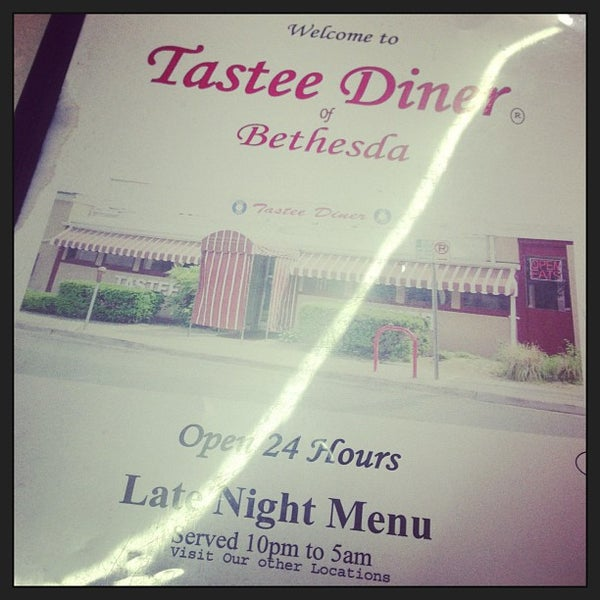 Photo taken at Tastee Diner by Amy S. on 6/22/2013