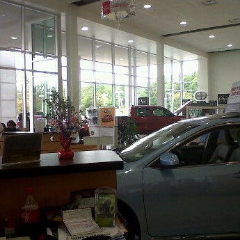 Photo Taken At Pearson Toyota By Lanny P. On 9/17/2012
