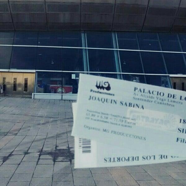 Photo taken at Palacio de los Deportes by Beto .. on 4/18/2015