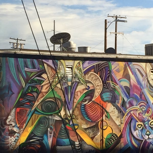 Photo taken at Chicano Park by O.V. B. on 9/29/2016