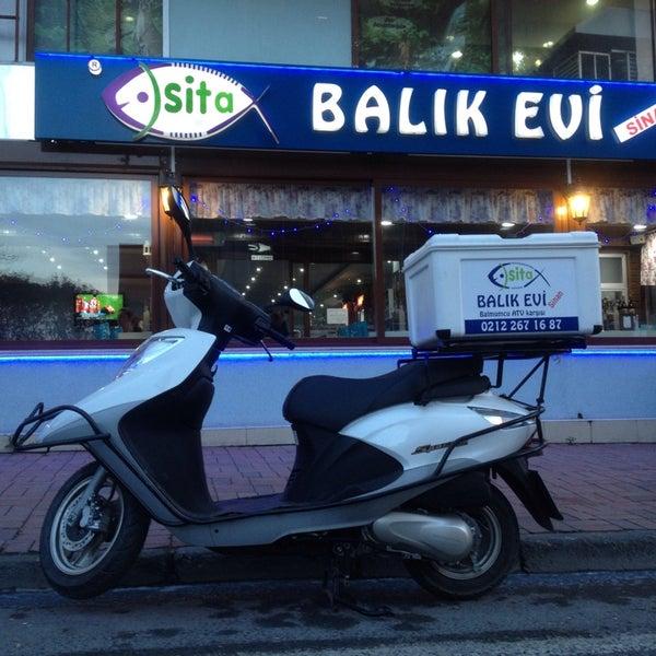 1/25/2014 tarihinde Selim S.ziyaretçi tarafından Sita Balık Balmumcu'de çekilen fotoğraf