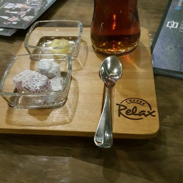Снимок сделан в Coffee Relax пользователем 🐞Oya İnci ❤ .. 4/22/2017
