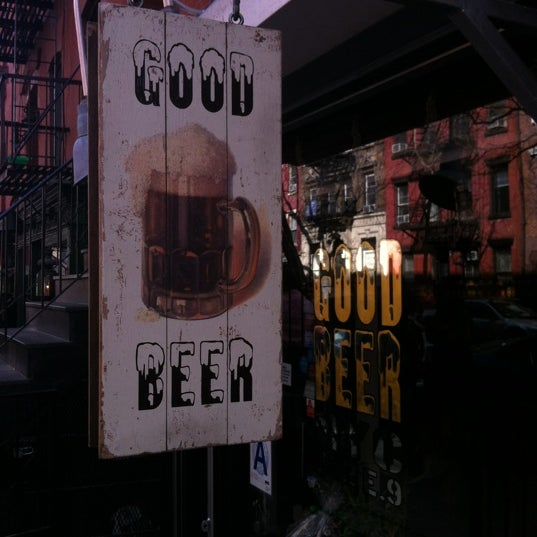 Photo taken at Good Beer NYC by Tina M. on 3/30/2013