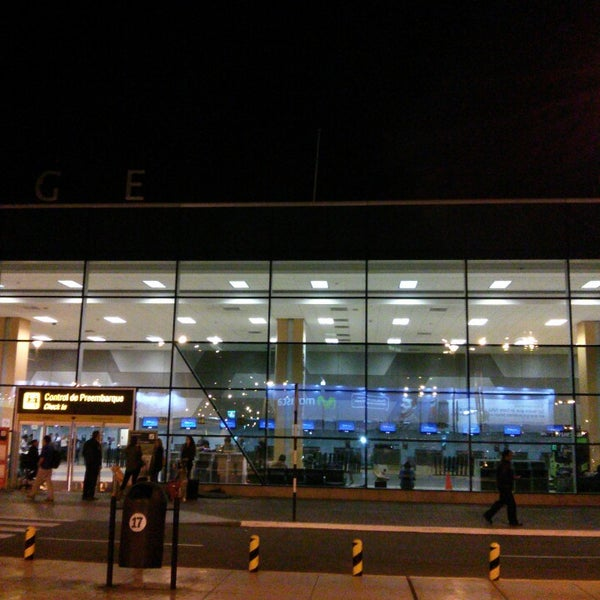 Photo taken at Jorge Chávez International Airport (LIM) by Alonso O. on 4/3/2013