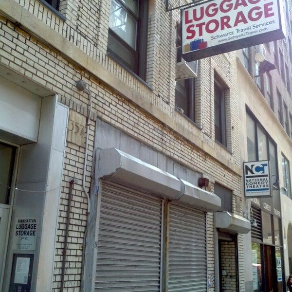 Photo Taken At Schwartz Luggage Storage NYC By Renato B. On 6/18/