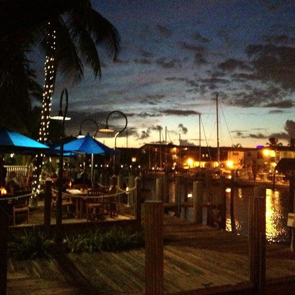 Photo taken at Bimini Boatyard Bar & Grill by Amy T. on 9/10/2013