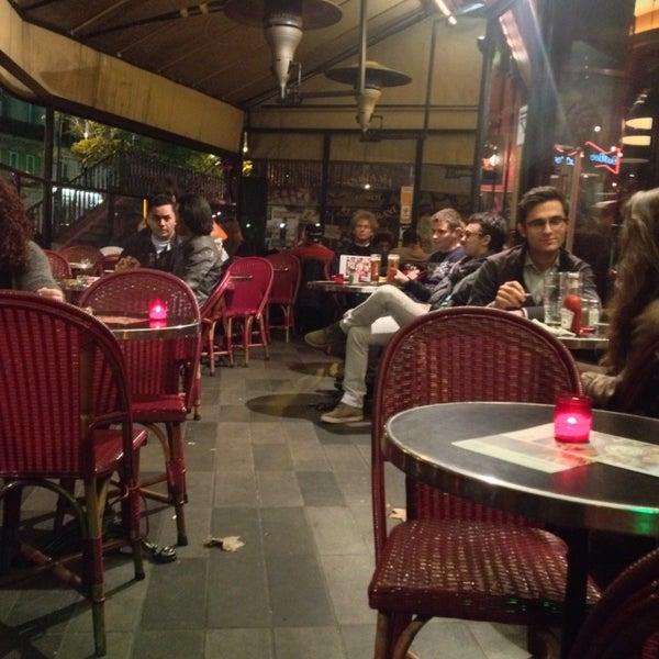 Photo taken at Indiana Café – République by Han' E. on 10/27/2015