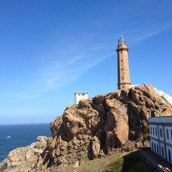 Photo taken at Faro de Cabo Vilán by Núria on 8/24/2013