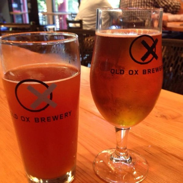 Photo taken at Old Ox Brewery by Mike G. on 9/12/2014