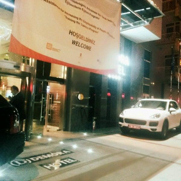 9/30/2016 tarihinde [̲◆_Arhan__DumaN_◆]ziyaretçi tarafından Demora Hotel'de çekilen fotoğraf