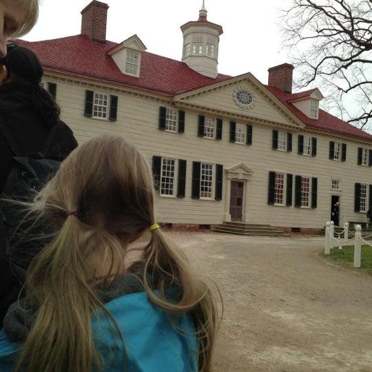 Photo taken at George Washington's Mount Vernon by Blake P. on 12/31/2012