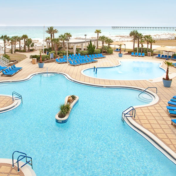 Photo taken at Hilton Pensacola Beach by Jack I. on 7/28/2015