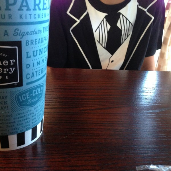 Photo taken at Corner Bakery Cafe by Phil R. on 9/18/2013