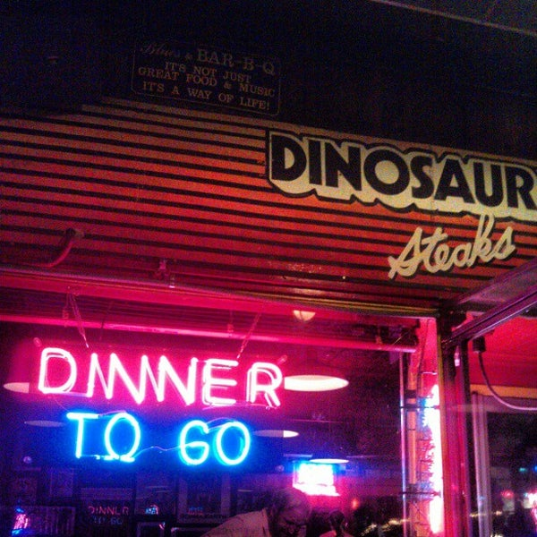 Photo taken at Dinosaur Bar-B-Que by Marc M. on 2/23/2013
