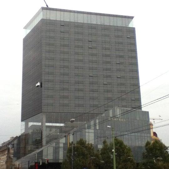 Photo taken at Sofitel Vienna Stephansdom by Philip J. on 10/2/2012