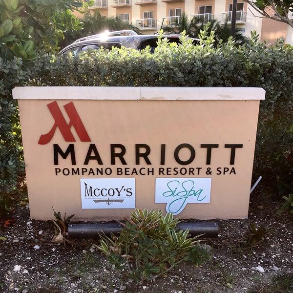 Das Foto wurde bei Marriott Pompano Resort and Spa von Frank B. am 12/30/2015 aufgenommen