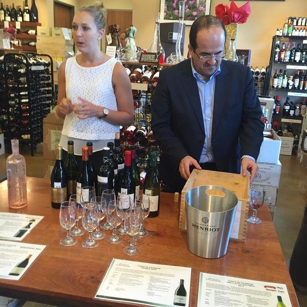 Photo taken at Houston Wine Merchant by Jamie M. on 7/21/2015
