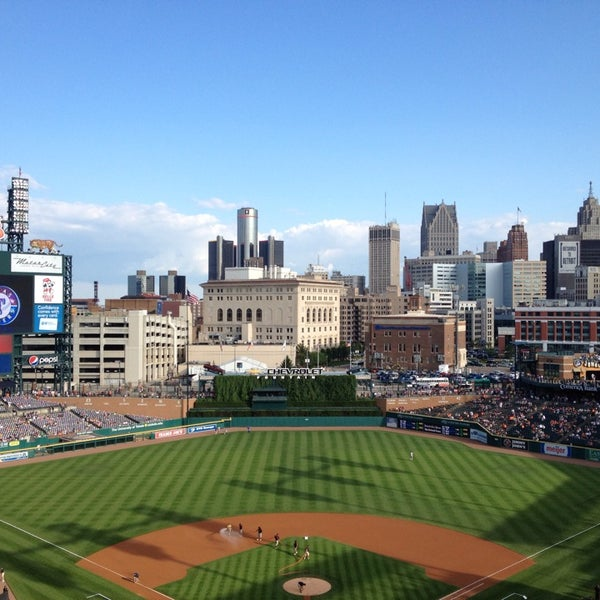 Photo taken at Comerica Park by Tami 🌊🌺🌼 on 7/12/2013