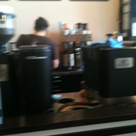 Photo taken at Transcend Coffee by Jason A. on 5/18/2012