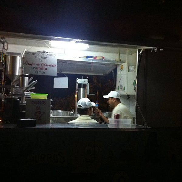 Photo taken at Churros Da Si by Diego D. on 9/30/2012
