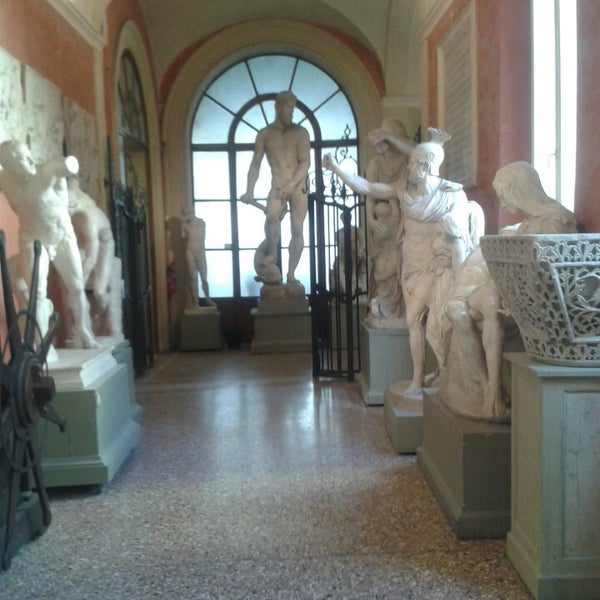 Photo taken at Accademia delle Belle Arti by Алла Р. on 4/16/2014