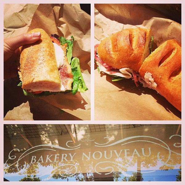 Photo taken at Bakery Nouveau by Amanda N. on 5/4/2013