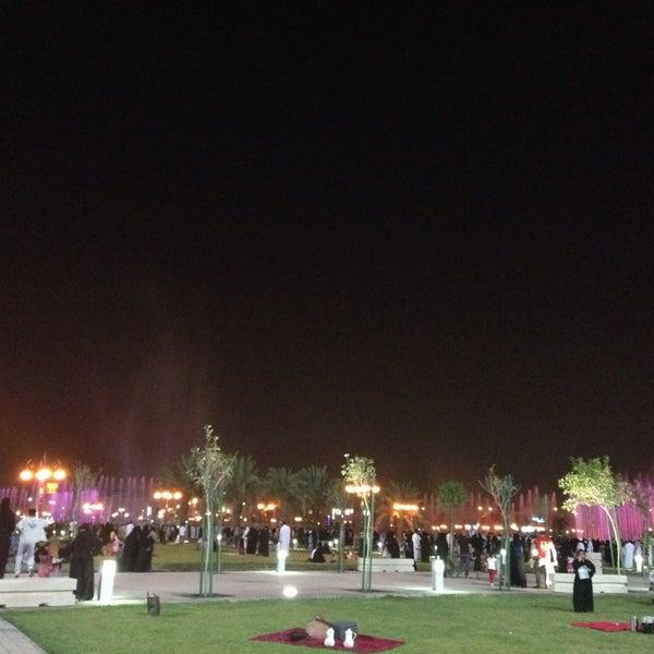 Photo taken at King Abdullah Park by #Asmaa W. on 10/5/2013