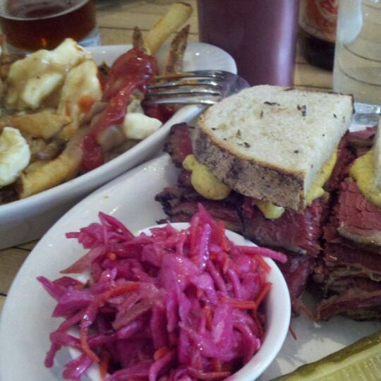 Photo taken at Mile End Delicatessen by Nate C. on 5/14/2012