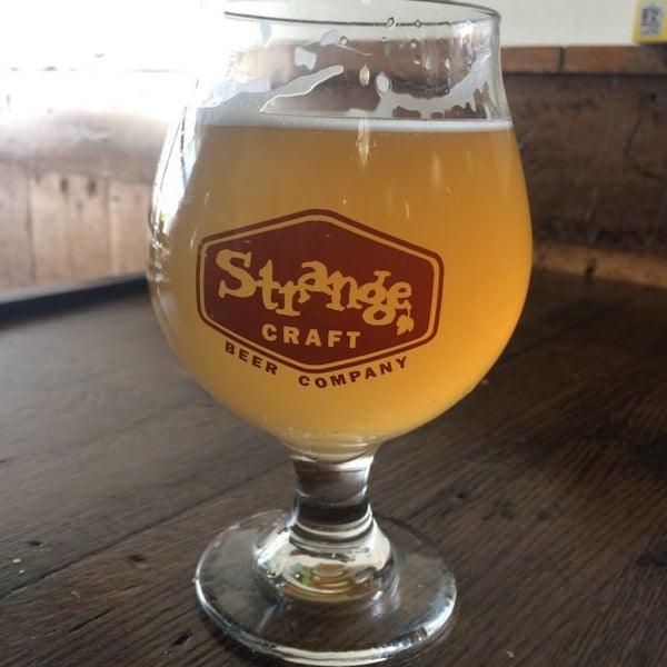 Photo taken at Strange Craft Beer Company by Brittany L. on 10/1/2016