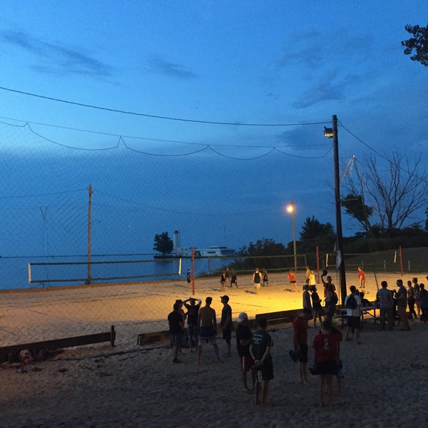 Photo taken at Whiskey Island Volleyball Courts by Gregory W. on 8/3/2017
