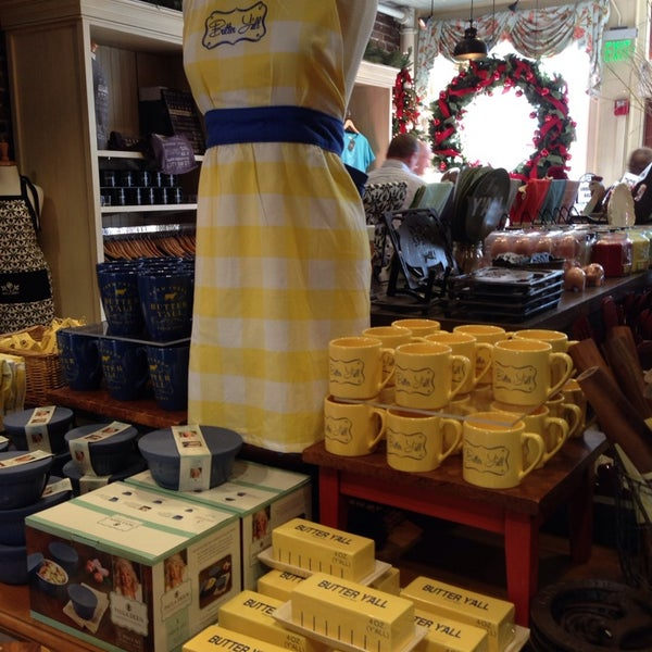 Photo taken at The Paula Deen Store by Valerie C. on 12/13/2013