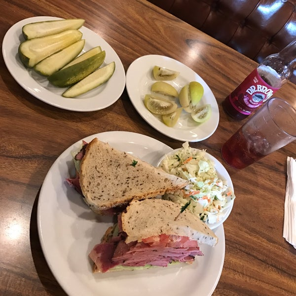 This is the best Deli in California and for sure the best Pastrami in the world. Even everything anyone knows in NYC can't beat Nate and Als stuff!!!!! I ❤ it.
