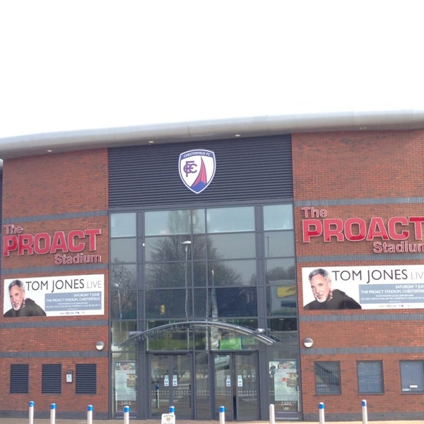 Photo taken at The Proact Stadium by Robbo on 3/13/2014