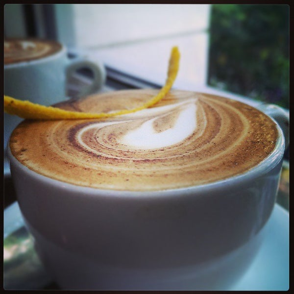 Photo taken at Espresso Vivace by Michael G. on 5/11/2013