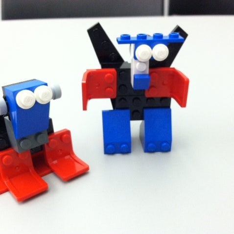 You can find lots of mini LEGO creatures out here!