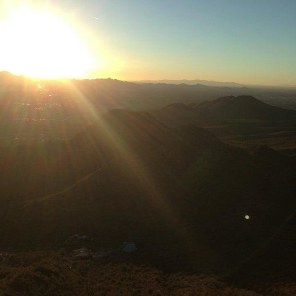 Photo taken at Sunrise Peak by D T. on 1/18/2013